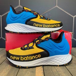 New Balance Fresh Foam Trail Running Blue Yellow